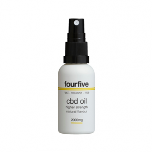 fourfivecbd Oil Natural | 30ml | 2000mg