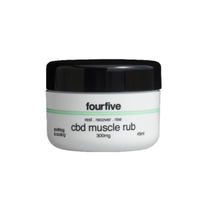 fourfive CBD Muscle Rub 0% THC | 45ml | 300mg